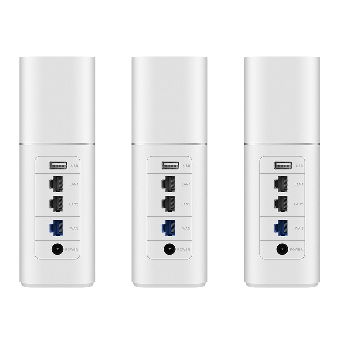 Huawei 53036238/A1/Secure SISTEMA HOME Mesh Router Wi-Fi 3/pezzi protezione di sicurezza con protezione dei giovani Wi-Fi Long Range Extender ricambio