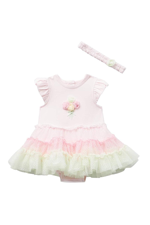 Little Me Baby Girls Popover Tutu Dress