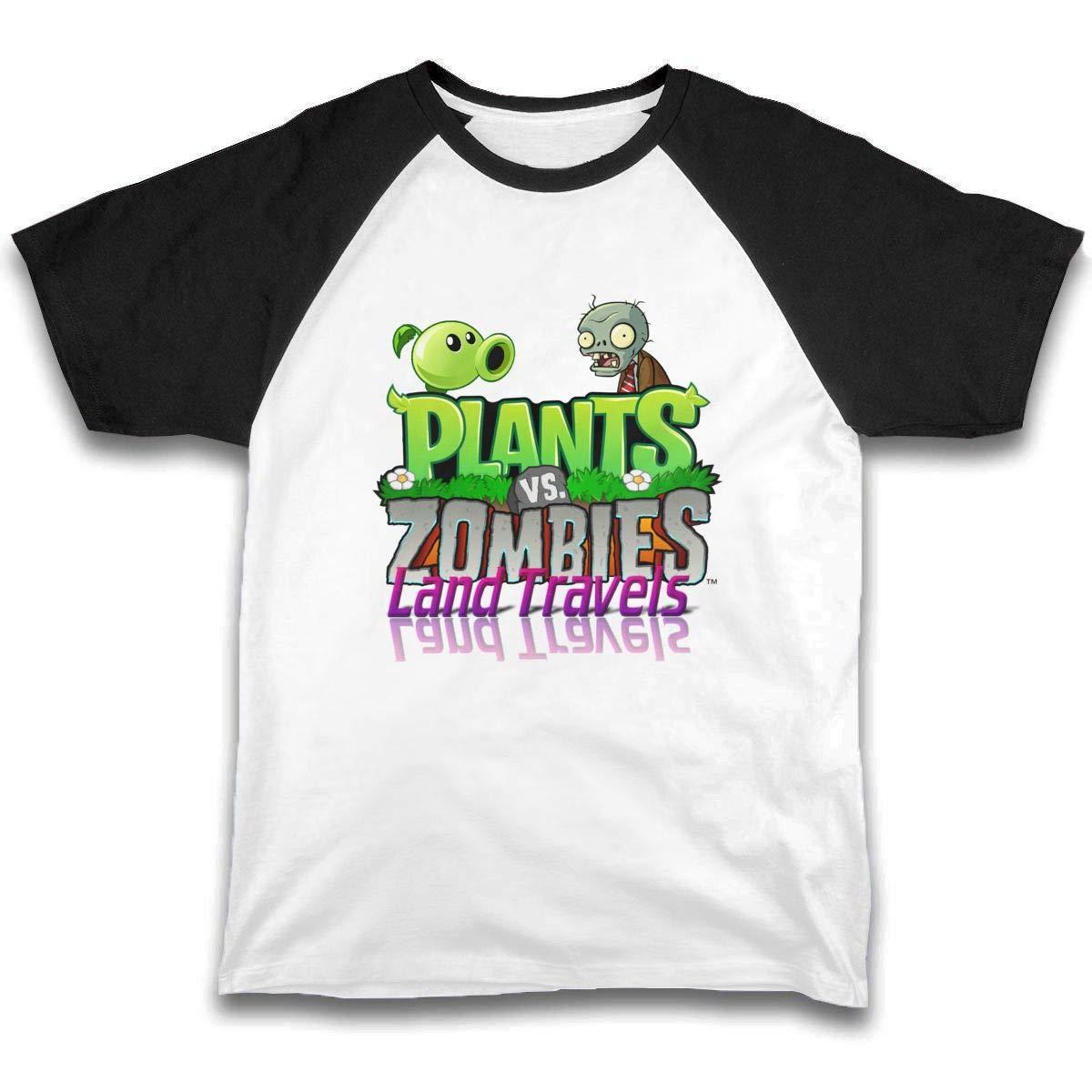 Amazon.com: Fanniemo Kids Childrens Shirts Plants Vs ...