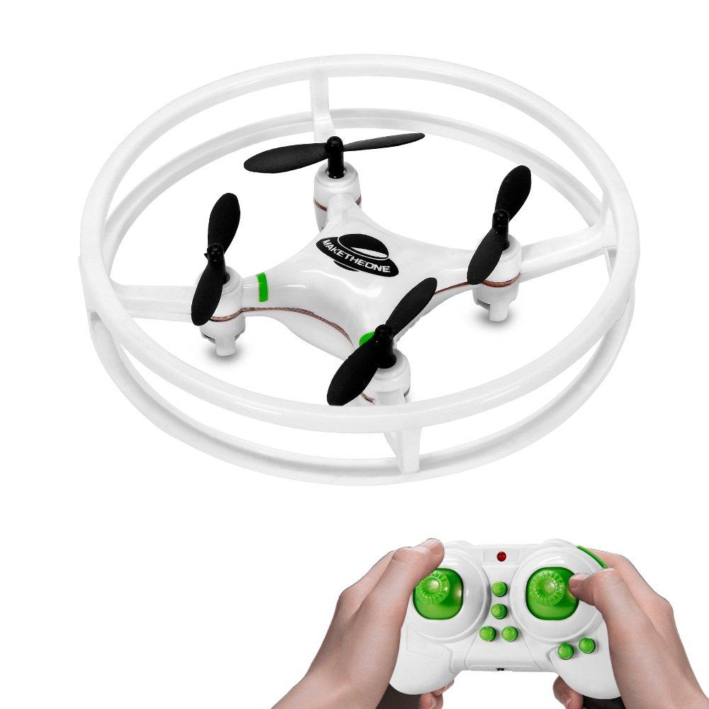 Nuevo Espacio Trek Mini Drone MakeTheOne RC Quadcopter Helicoptero CH  GHz