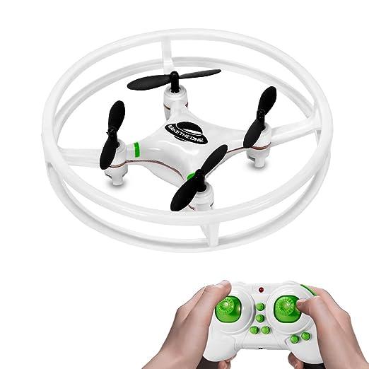 8 opinioni per WildGrow Space Trek Mini Quadricottero Droni Mini UFO Telecomandato Quadcopter