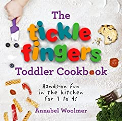 A practical, hands-on cookery book that makes it as easy as possible for parents, grandparents and carers to have fun cooking with a toddler aged 1 to 4 years old.         Everything in Tickle Fingers is completely toddler app...