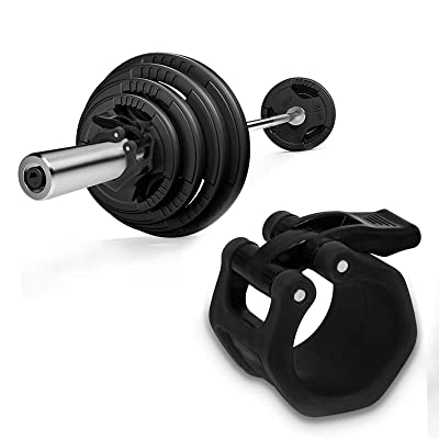 Olympic Weight Bar Spring Clip Collar For Fast Weight Plate Changes By