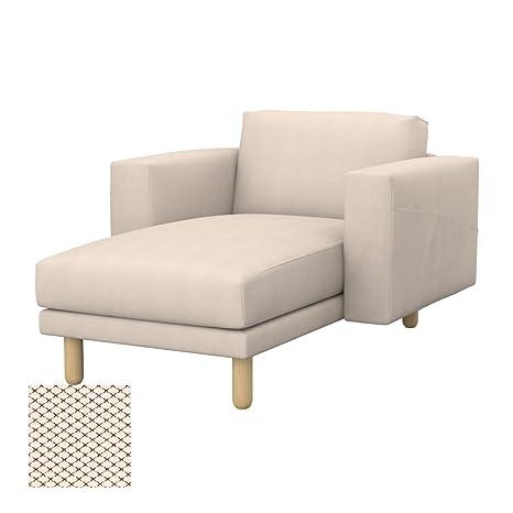 Soferia - IKEA NORSBORG Funda para chaiselongue, Nordic ...
