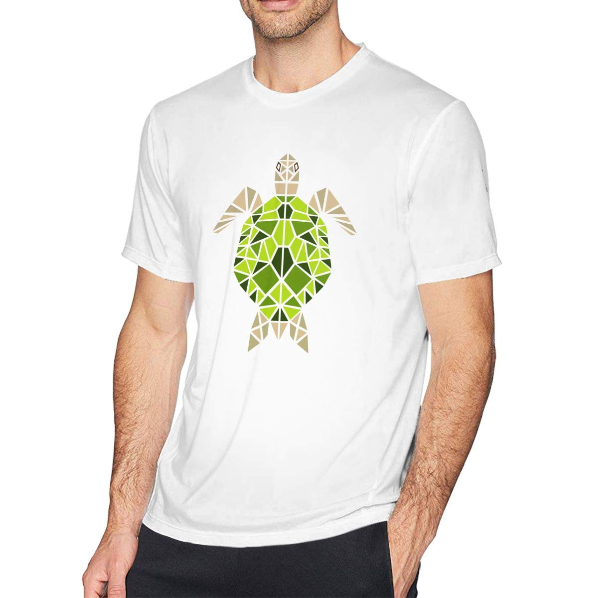 Casual Shirt for Men SUMT4men The Tortoise Mens Crew Neck Short Sleeve T-Shirt