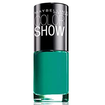 maybelline color show nail urban turquoise 120 ml amazon co uk beauty