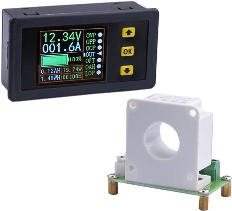Yeeco Digital DC Multimeter, DC 0-90V 0-100A Voltmeter Ammeter Voltage Amperage
