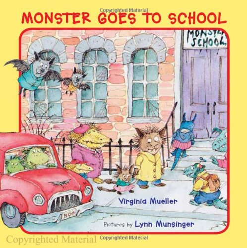 MONSTER GOES TO SCHOOL