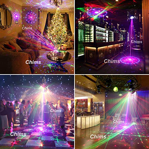 Chims DJ Laser Lights Projector Red Green Blue Laser with