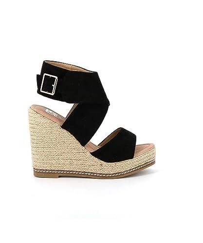 809db449ee6 CASSIS COTE D AZUR - Sandale Plateforme Frida  Amazon.fr  Chaussures ...
