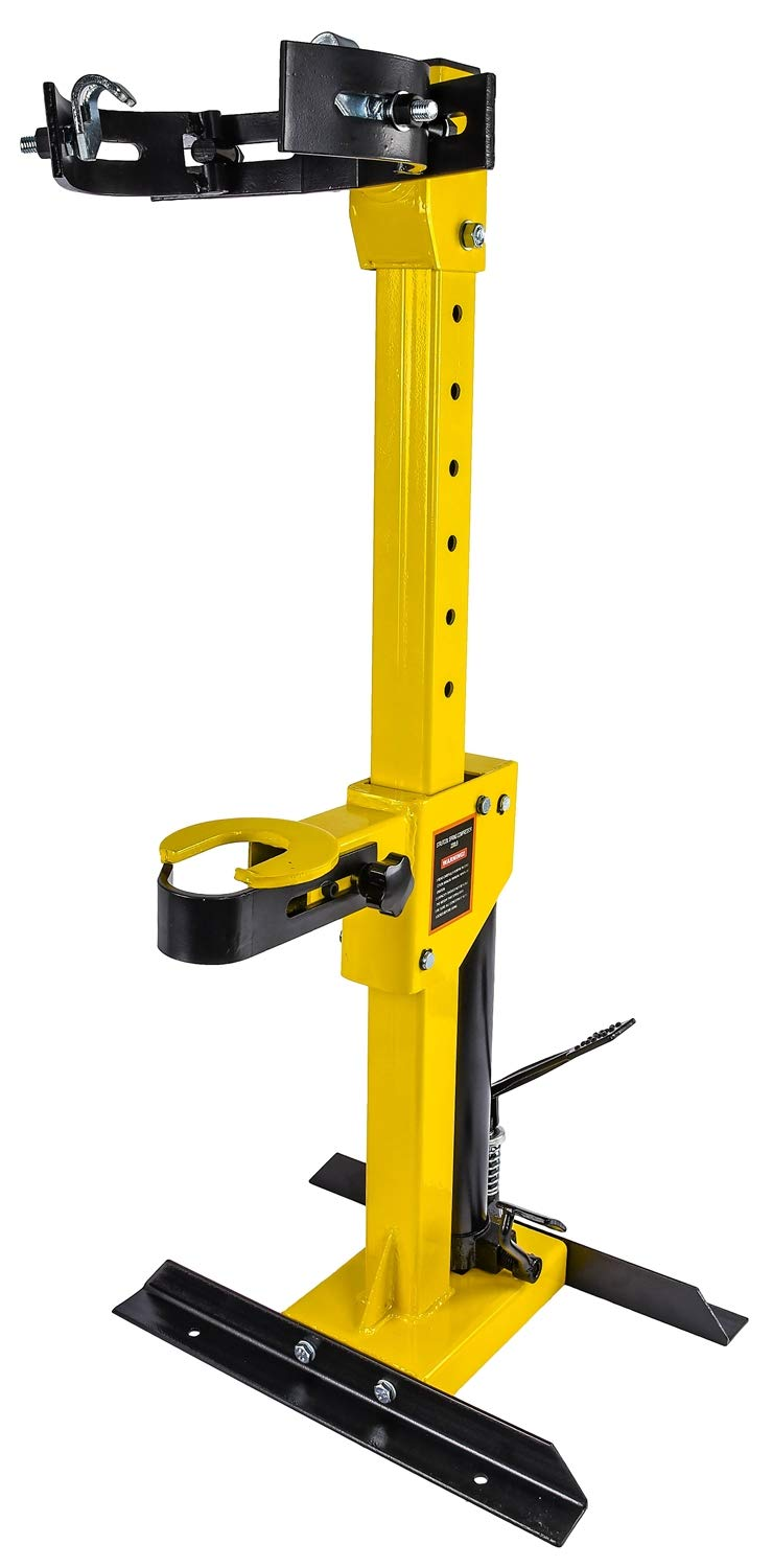 JEGS 80617 Strut Coil Spring Compressor Hydraulic Foot Pedal Assist Capacity: 1- by JEGS (Image #1)