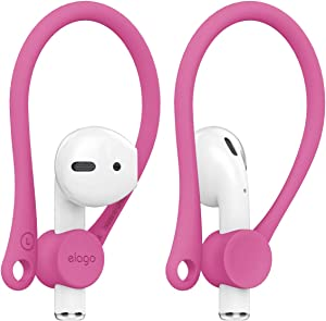 elago Upgraded AirPods Ear Hook Designed for Apple Airpods 1 & 2 and AirPods Pro [ Hot Pink ]