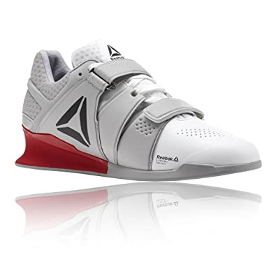 in stock da625 d030f REEBOK Legacy Lifter Chaussure Haltérophilie - Homme - Blanc (White Stark  Grey Primal