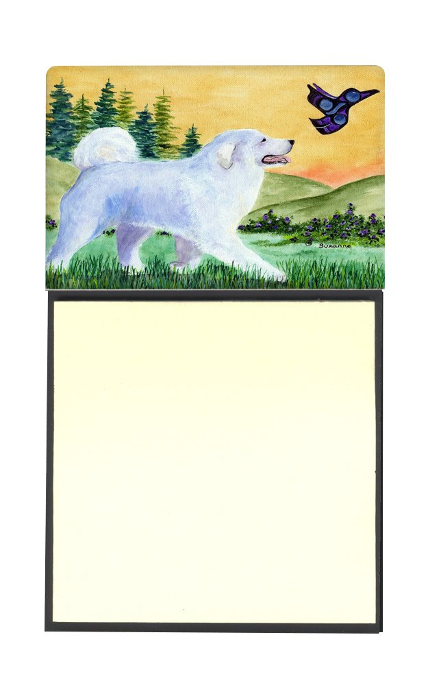 Multicolor Carolines Treasures SS8241SN Great Pyrenees Refillable Sticky Note Holder or Postit Note Dispenser 3.25 by 5.5