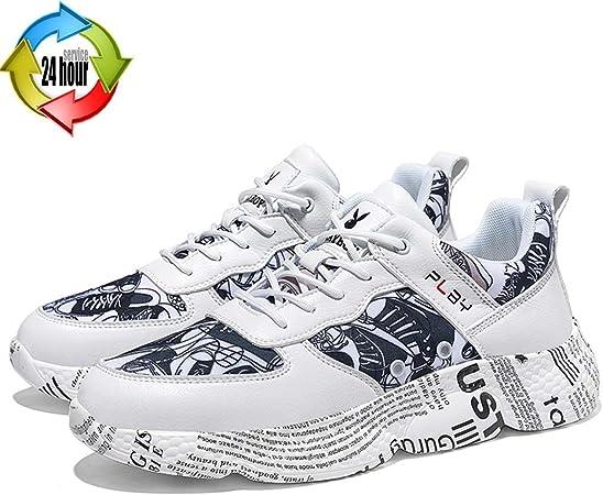 Zapatos para hombre Deportes De Exterior Deportes De Interior Zapatillas De Dibujo De Primavera Para Hombre Calzado Informal Transpirable Y Resistente Al Desgaste. Zapatillas De Deporte De Moda Doodle: Amazon.es: Hogar
