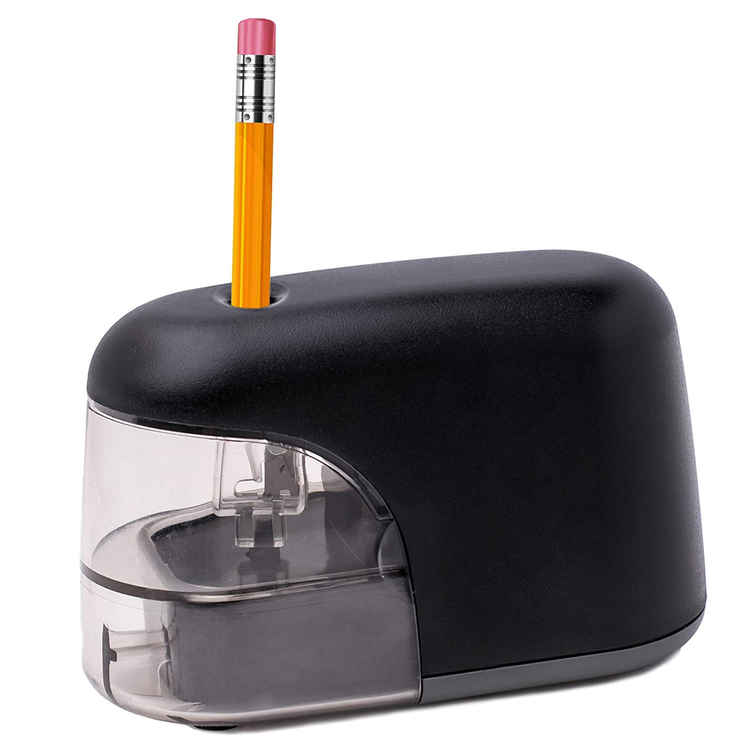 Electric Pencil Sharpener, Heavy-duty Helical Blade,Auto Stop, Perfect for Artist, Student, Supplies for Classroom/Office/Home, for 6.5-8mm diameter Pencils