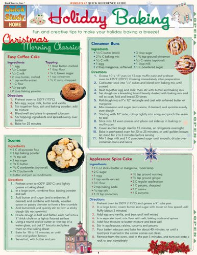 Download Holiday Baking (Quickstudy: Home) PDF