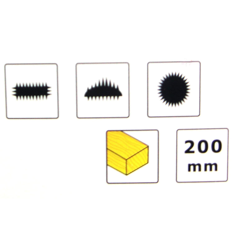 Holzraspelsatz 200 mm Holz Raspel Flachraspel Halbrundraspel Rundraspel 3tlg Set