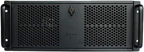 CoolBox SRM-44500 Carcasa de Ordenador Estante Negro - Caja de Ordenador (Estante, Servidor, ATX, Negro, 4U, Hogar/Oficina): Amazon.es: Informática