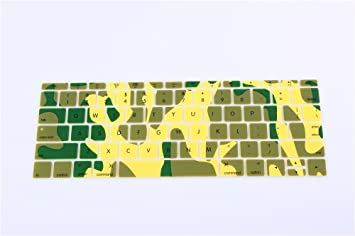 rinbers 11/12/13/15 pulgadas portátil de teclado de silicona para Apple