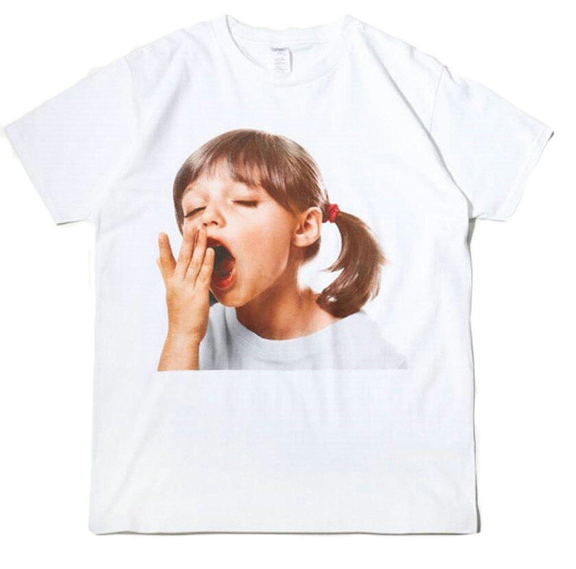 Beloved Mens Summer Digital Print Short Sleeve Round Neck Casual Loose Top Tee