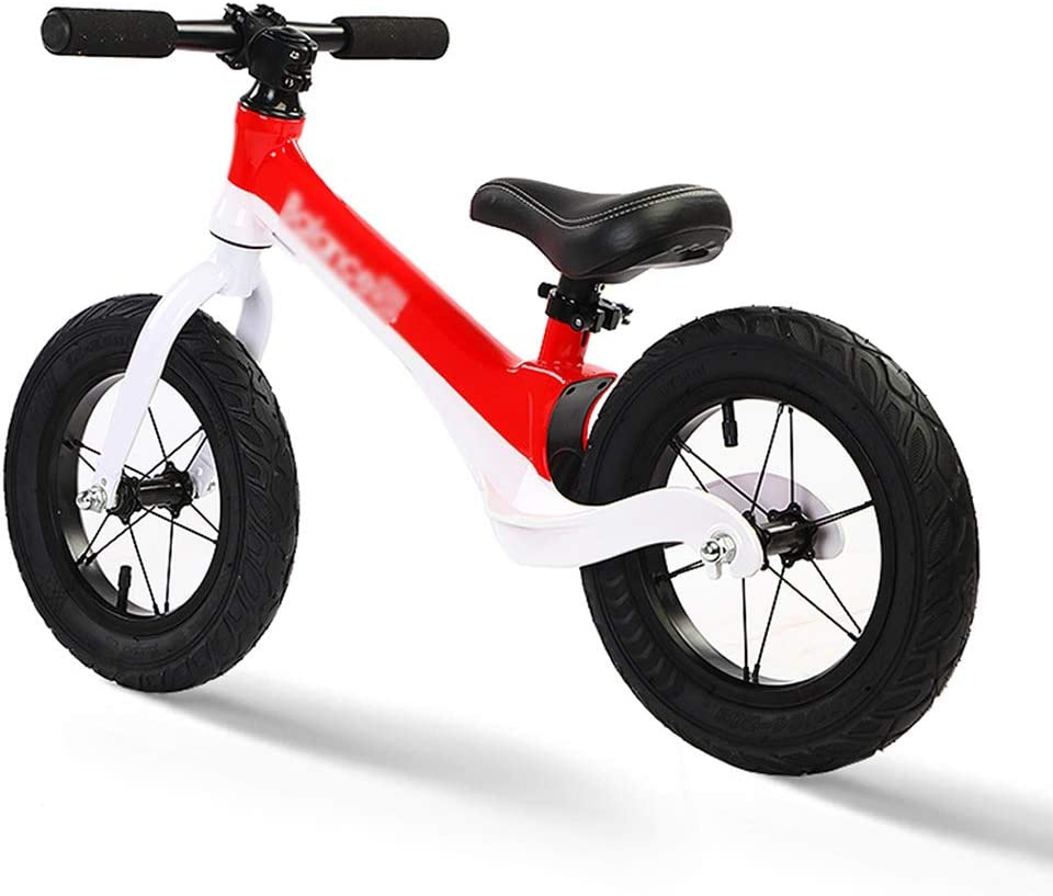 Bicicletas sin pedales Balance Bike Bullet Bikes No Pedal Bicycle Sport Balance Bike Toddler Primer Regalo De Cumpleaños (Color : Red, Size : 87 * 16 * 57cm)