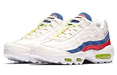 new product 15549 d1b2a Nike Air Max 95 SE Sail Arctic Pink-Racer Blue (Womens) (