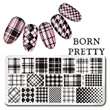 BORN PRETTY Rectangle Nail Art Stamp Template Print Nail Art Template DIY Image Plate L041