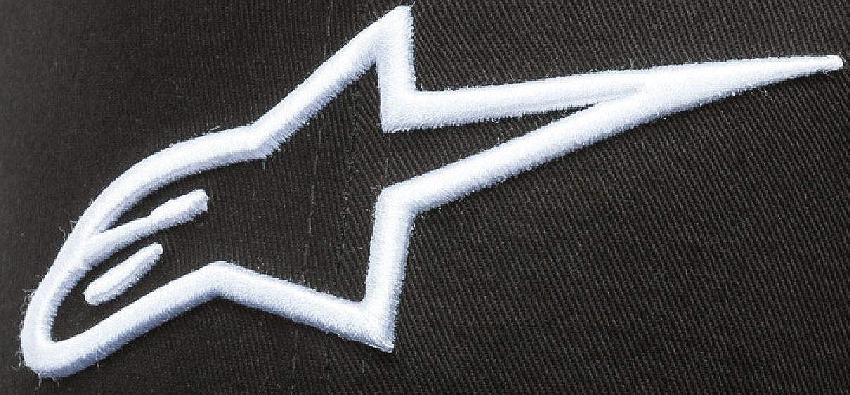 Alpinestars Mens Logo Flexfit Hat Flat Bill Trucker Snap Back Baseball Cap
