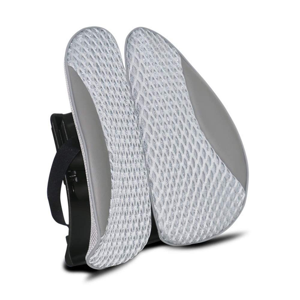 TTVUSGDW Cushion Grid Shape Spring Backrest Relieve Back Pain Protect and Soothe Your Back (Color : D, Size : 40X40CM) by TTVUSGDW