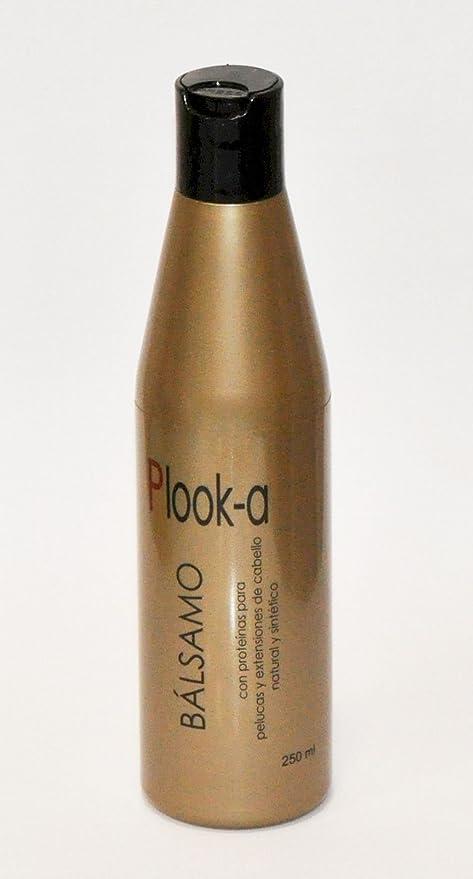 Balsamo con proteinas para pelucas y extensiones de cabello natural y sintético