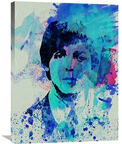 "Naxart Studio ""Paul Mccartney Watercolor"" Giclee on canvas, 24"" by 1.5"" by 32"" from Naxart Studio"