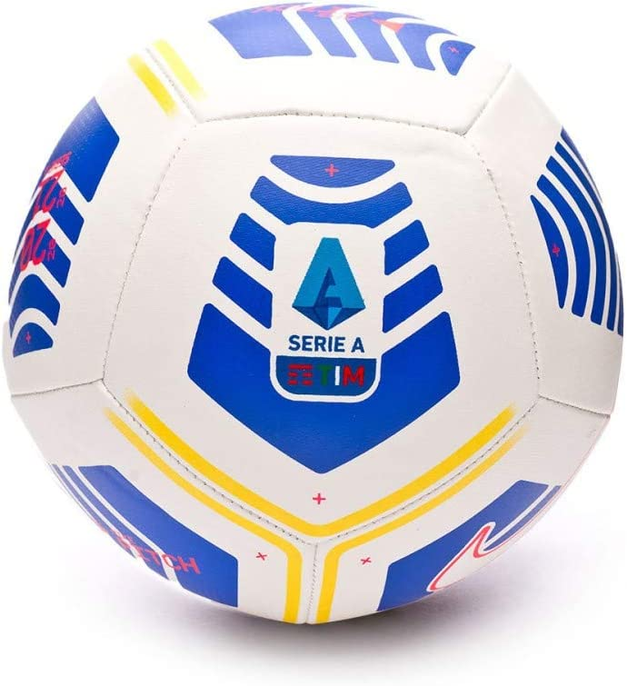 nike soccer ball serie a pitch 2020 21 white 4 amazon co uk sports outdoors amazon co uk