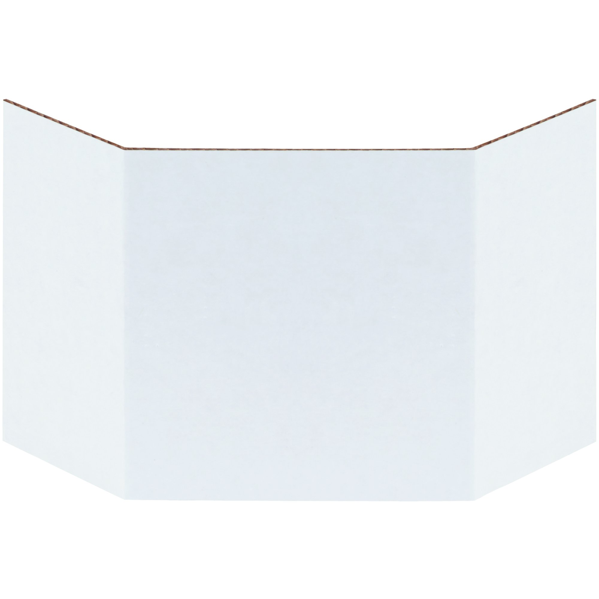 BOX USA BBIND4 Corrugated Bin Dividers, 4'', Oyster White (Pack of 100) by BOX USA