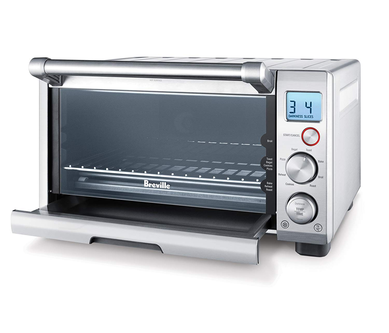 Breville the Compact Smart Oven 1800W Convection Toaster Oven - BOV650XL by Breville (Image #3)