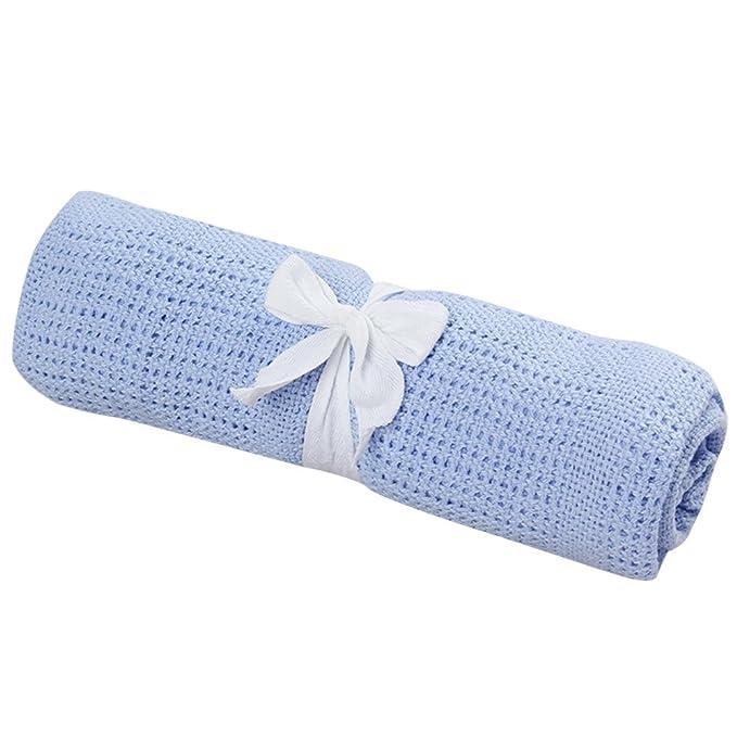 Amazon.com: fineser manta para bebé, manta de cuna para bebé ...