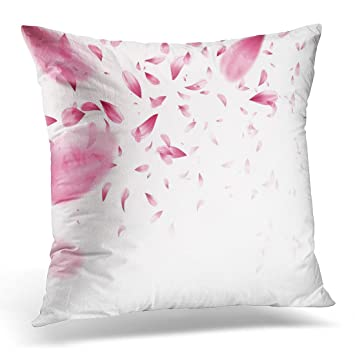 Amazon.com: Funda de almohada Sdamase color blanco abstracto ...