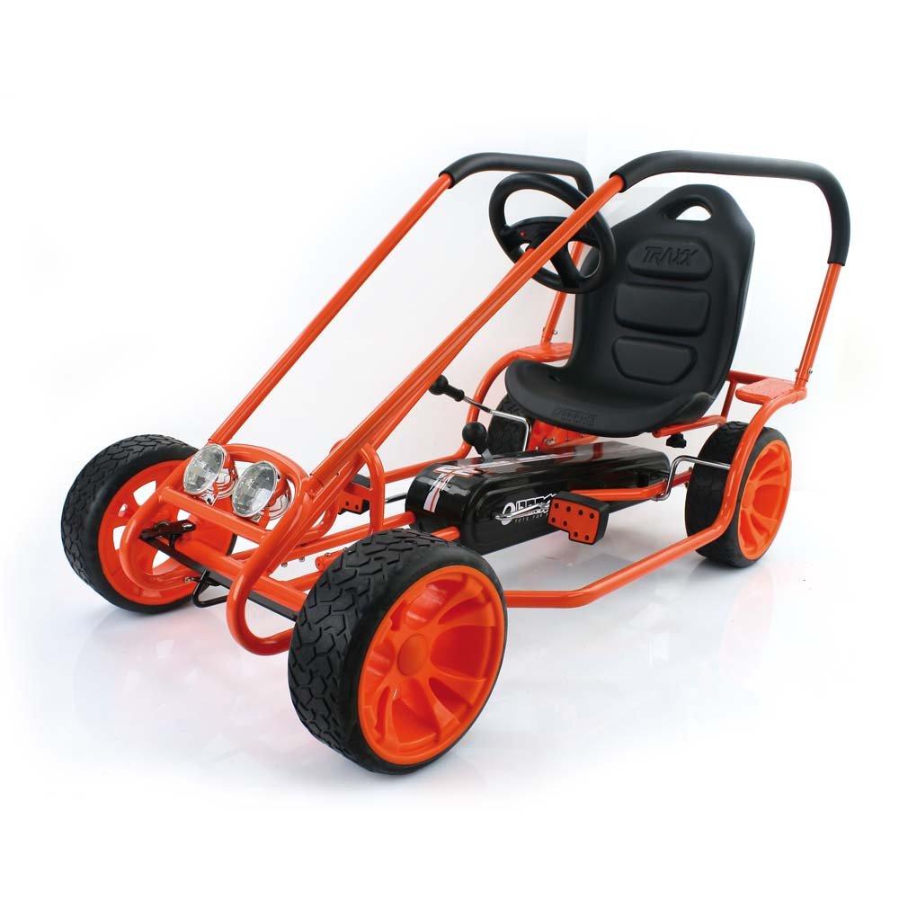 Amazon.com: Hauck Thunder II Pedal Go Kart, Orange: Toys & Games