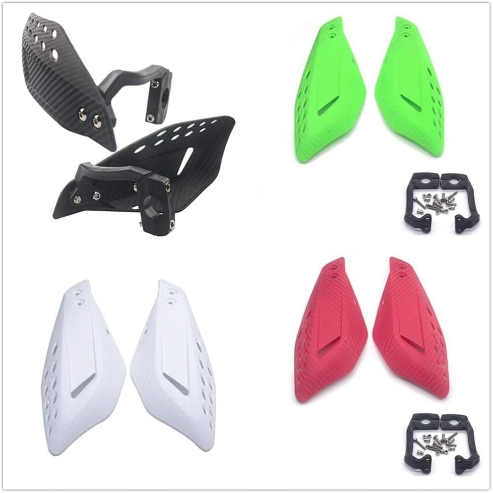 Color : Black Accessoires moto Universal Moto Gantelets Motocross Protections Handguards 7//8 /« /» 22mm VTT Dirt Bike Moto Gantelets de protection Prot/ège-mains de moto