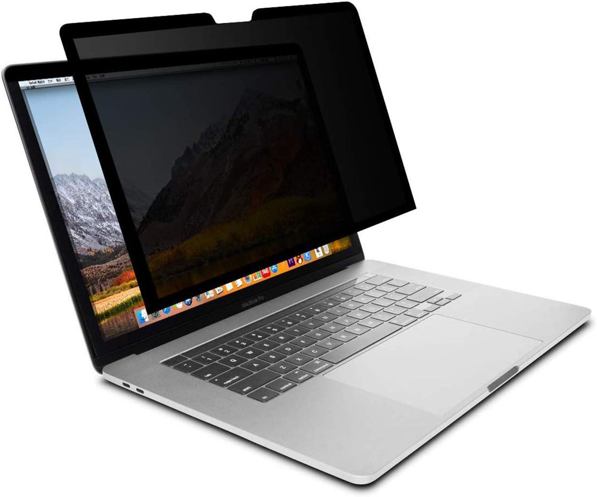 A Prueba de Peep Protectora de Pantalla de Privacidad de Antideslumbrante A Prueba de Esp/ías Pel/ícula de Bloqueo de Luz Azul MOSISO Filtro de Privacidad Compatible con MacBook Pro 2019 16 A2141