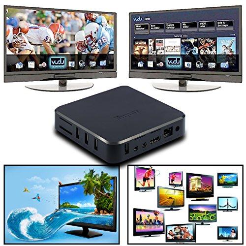Android TV Box, Juning® 2016 Smart TV Box 4K Amlogic S805 Quad-Core / Octa-Core-ARM Mali-450 GPU KODI CPU 1 GB SDRAM / 8G EMMC, Wifi, Bluetooth, Mit HD Musik, Film, Streaming Media Player