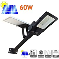 JANDEI - Farola LED 60W Solar Exterior IP65
