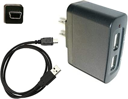 USB Charger Charging Data Cable Cord for Uniden HomePatrol II Handheld Scanner