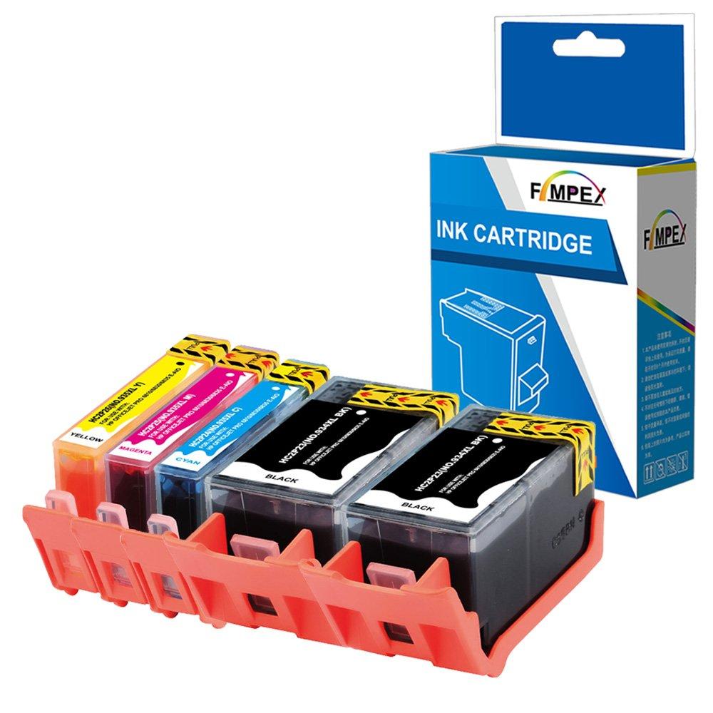 Fimpex Compatible Tinta Cartucho Reemplazo Para HP Officejet 6820 ...
