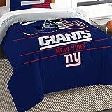 "Northwest New York Giants Nfl Twin Comforter Set (draft Series) (64"" X 86"")"