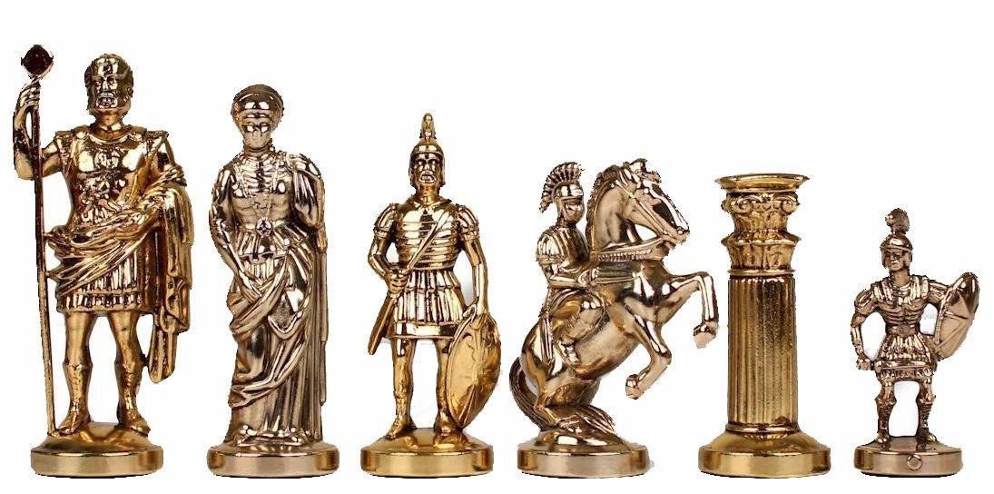 【超新作】 Manopoulos Romans Romans Chess Set - Package - Package Brown Board B06WVBDR3N, 多屋の蔵:7e8f3a97 --- cygne.mdxdemo.com