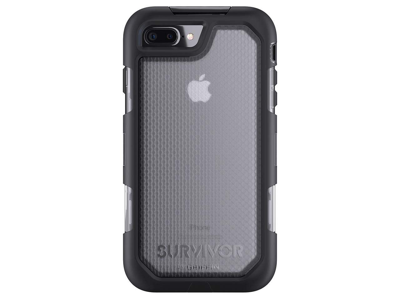 separation shoes 32c92 396a5 Griffin Survivor Summit for iPhone 7 Plus, Black Clear - Maximum Drop  Protection and rain-Proof case for iPhone 7 Plus