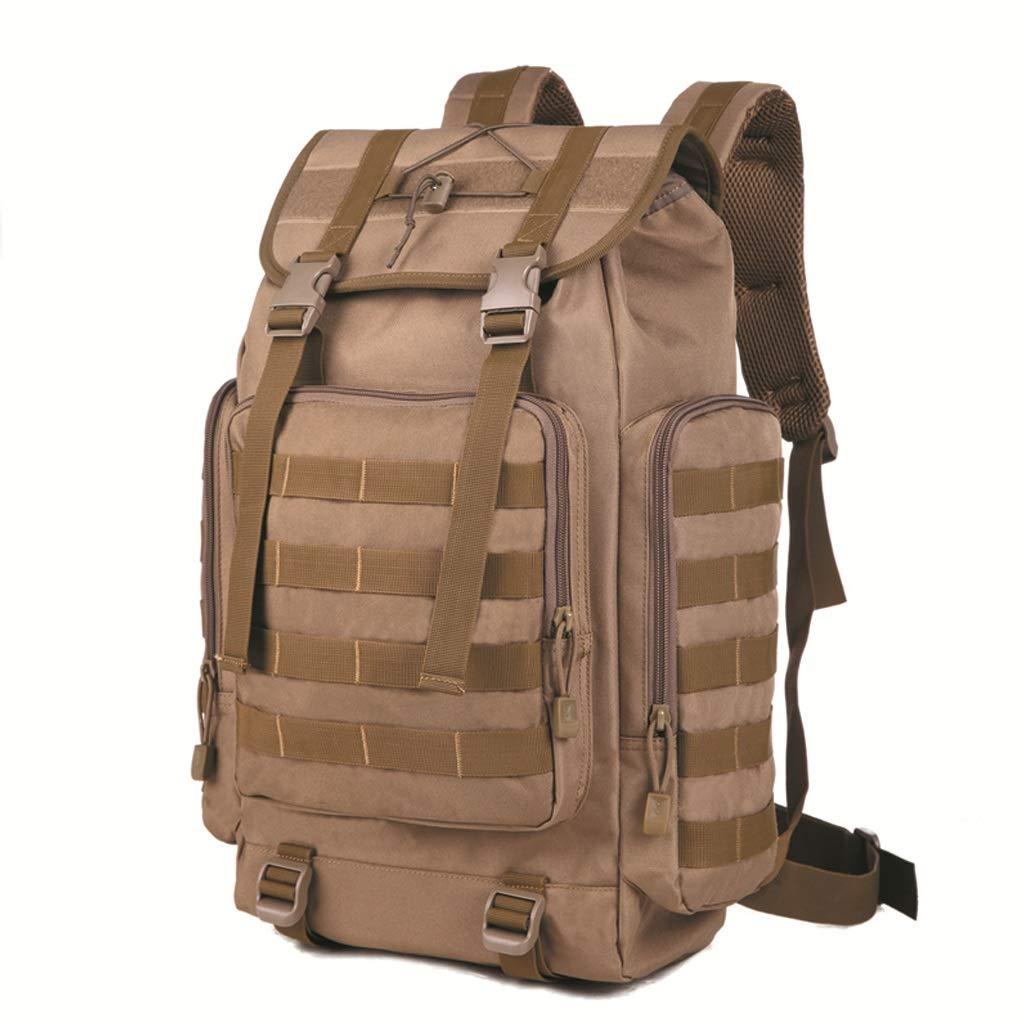 B  Sac à Dos de plein air Camouflage Sac à Dos de randonnée Grand Sac à Dos 50L (Camouflage)