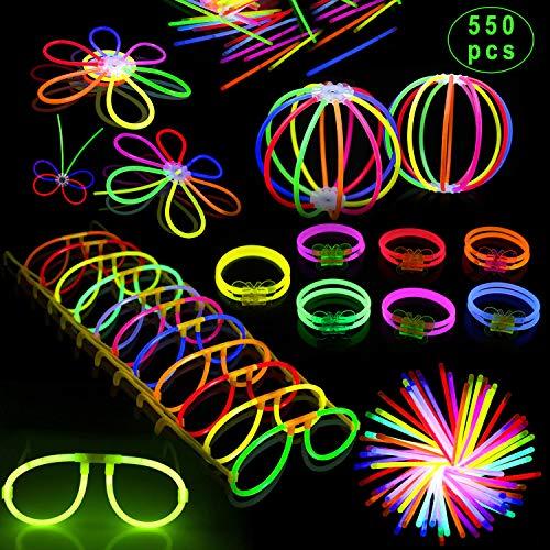 Inifty Glow Sticks Bulk 8