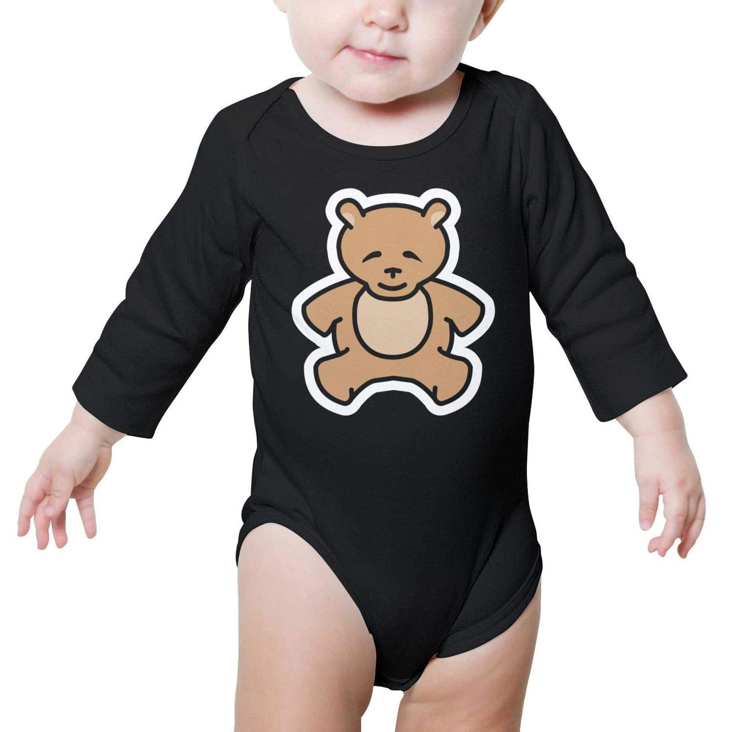 Bodysuits & One-Piece Suits Ngjdshfk Puppies Sticker Cotton Babies AutumnSuit Long Sleeve Baby Onesies Bodysuits Bodysuits & One-Piece Suits